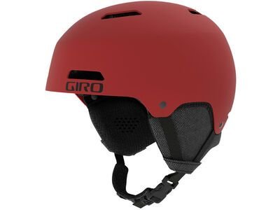 Giro Ledge, matte dark red - Skihelm