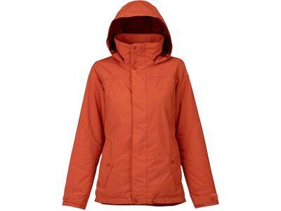 Burton Womens Jet Set Jacket, persimmon - Snowboardjacke