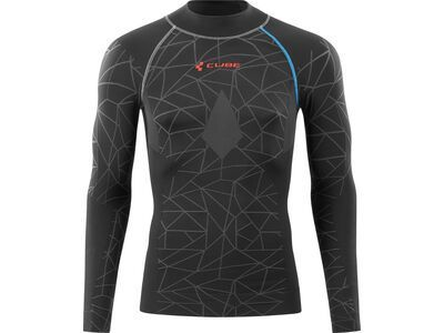 Cube Funktionsunterhemd Race Be Warm langarm black