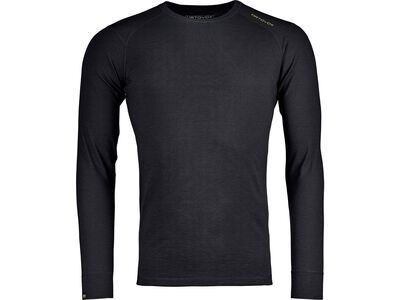 Ortovox 145 Merino Ultra Long Sleeve M, black raven - Unterhemd