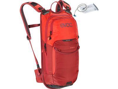 Evoc Stage 6l + Hydration Bladder 2l, orange/chili red - Fahrradrucksack