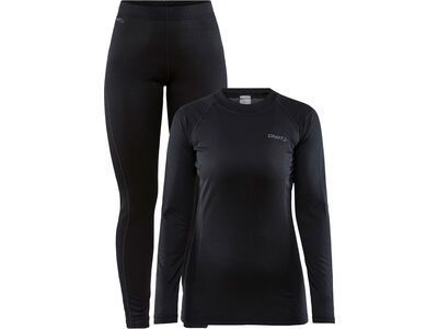 Craft Core Warm Baselayer Set W, black - Unterwäsche-Set