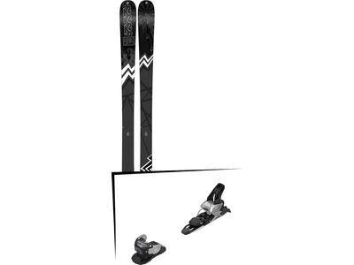 Set: K2 SKI Press 2019 + Salomon Warden MNC 11 silver/black