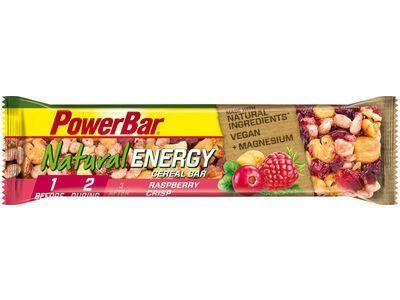 PowerBar Natural Energy Cereal (Vegan) - Raspberry Crisp - Energieriegel