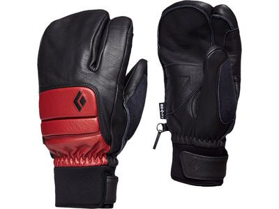 Black Diamond Spark Finger Gloves, dark crimson - Skihandschuhe