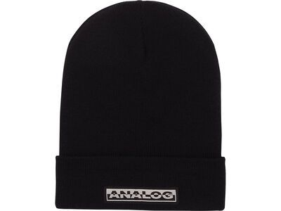 Analog Chainlink Beanie, true black - Mütze