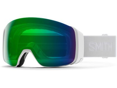 Smith 4D Mag inkl. WS, white vapor/Lens: cp everyday green mir - Skibrille