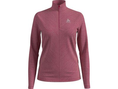 Odlo Midlayer 1/2 Zip Roy cerise/sepia rose/stripes