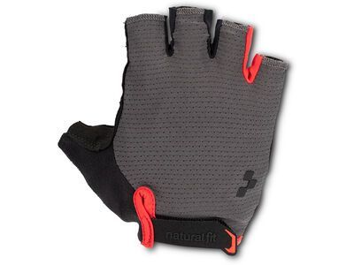 Cube Natural Fit Handschuhe Kurzfinger grey´n´red