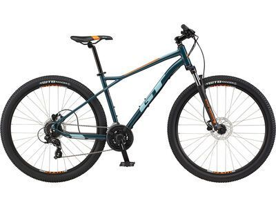 GT Aggressor Expert 29 2021, satin slate blue - Mountainbike