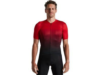 Specialized Sl Air Short Sleeve Jersey Sagan Collection - Deconstructivism red/black fade