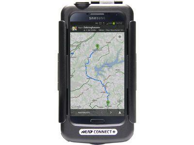 NC-17 Connect+ Galaxy S4 Case + Halterung und USB Ladekabel, black - Schutzhülle