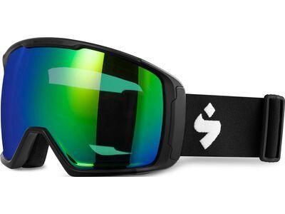 Sweet Protection Clockwork WC MAX RIG Reflect BLI + WS, matte black/Lens: RIG emerald - Skibrille