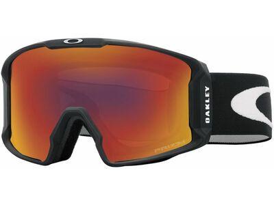 Oakley Line Miner Prizm, matte black/Lens: torch iridium - Skibrille