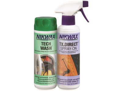 Nikwax Tech Wash / TX.Direct Spray-On Doppelpack - 2x 300 ml