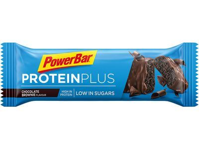 PowerBar Protein Plus Low Sugar - Chocolate Brownie - Proteinriegel