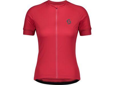 Scott Endurance 10 S/Sl Women's Shirt, lollipop pink/dark grey - Radtrikot