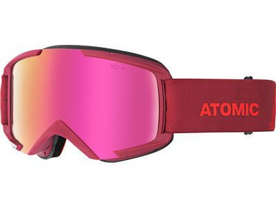 Atomic Savor HD, red/Lens: pink copper hd - Skibrille