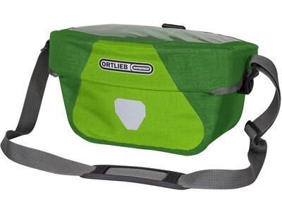 Ortlieb Ultimate Six Plus 5 L - ohne Halterung, lime-moss green - Lenkertasche