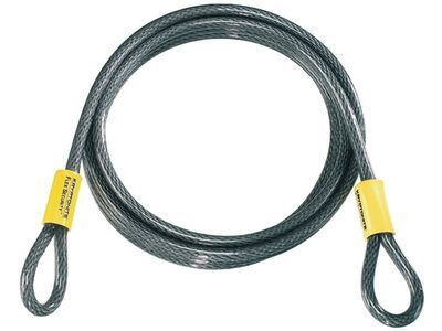 Kryptonite KryptoFlex 1030 Double Loop Cable - 1/930 cm, gelb/schwarz - Sicherungskabel