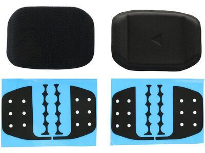 Profile F-40 Velcro Back Pad Set, black - Zubehör