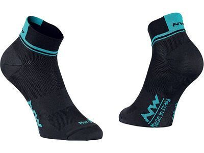 Northwave Dedalo Wmn Socks, black/ceramic - Radsocken