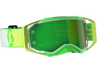 Scott Prospect Goggle Dean Lucas Signature Yellow Green Chrome Works green
