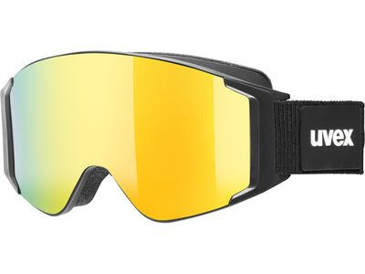 uvex g.gl 3000 TO, black/Lens: mirror gold - Skibrille