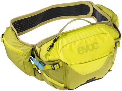 Evoc Hip Pack Pro 3l + Hydration Bladder 1,5l suplphur/moss green