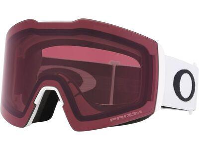 Oakley Fall Line XL Prizm, matte white/Lens: dark grey - Skibrille