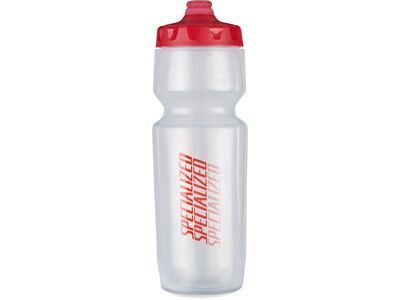 Specialized Purist Hydroflo Fixy 0,68 L, translucent/red diffuse - Trinkflasche