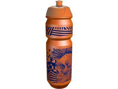 Riesel Design flasche, skull orange - Trinkflasche