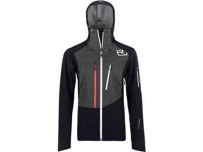 Ortovox Merino Naturtec Plus Pordoi Jacket W, black raven - Softshelljacke