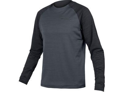 Endura Singletrack Fleece, schwarz - Radtrikot