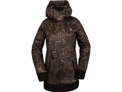 Volcom Spring Shred Hoody, leopard - Fleecehoody