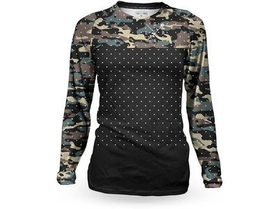 Loose Riders C/S Women's Jersey LS Tundra Forest multi color