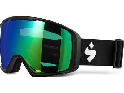 Sweet Protection Clockwork MAX RIG Reflect, matte black/Lens: RIG emerald - Skibrille