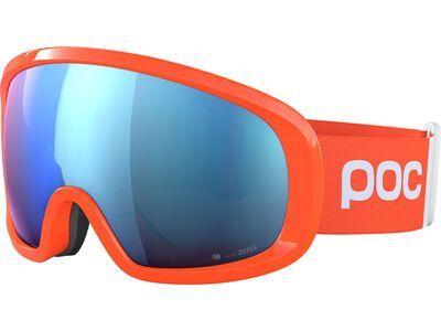 POC Fovea Mid Clarity Comp Spektris Blue fluorescent orange