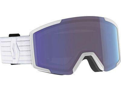 Scott Shield - Enhancer Blue Chrome white