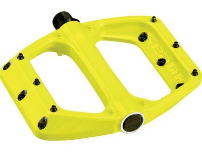 Spank Spoon DC Flat Pedal, yellow