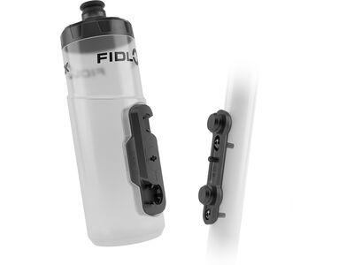 Fidlock Twist Bottle 600 + Bike Base transparent white