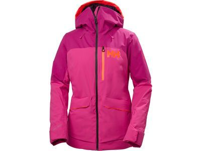 Helly Hansen W Powchaser Lifaloft Jacket, dragon fruit - Skijacke