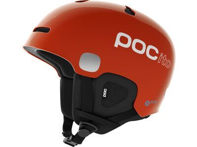 POC POCito Auric Cut SPIN, fluorescent orange - Skihelm