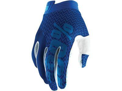 100% iTrack Glove blue/navy