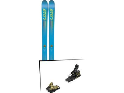 Set: Line Gizmo 2018 + Salomon STH2 WTR 16 gold/black