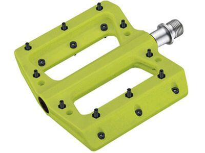 Cube RFR Pedale Flat HPP, green
