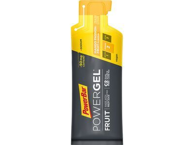 PowerBar Powergel Fruit - Mango-Passionfruit (mit Koffein) - Energie Gel