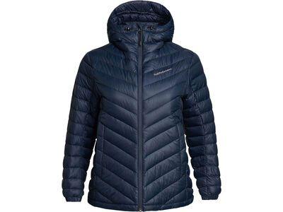 Peak Performance W Frost Down Hood Jacket blue shadow