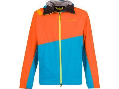 La Sportiva Zagros Gore-Tex Jacket M, pumpkin/blue - Skijacke