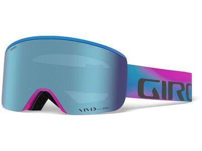 Giro Axis inkl. WS, viva la vivid/Lens: vivid royal - Skibrille